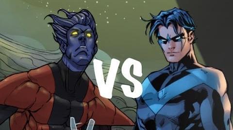 Nightcrawler vs Nightwing THE RAP BATTLE-0