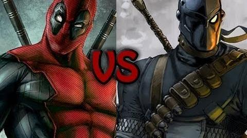 Deadpool vs Deathstroke Rap Battle