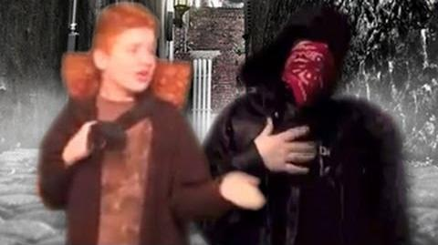 The Merchant vs The Happy Mask Salesman - Epic Rap Battle Parodies