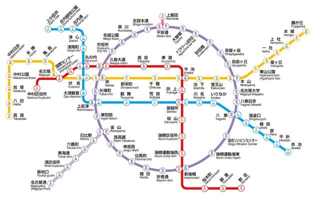 File:Nagoya Municipal Subway Map.png