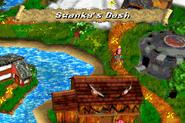 Swanky's Dash - Overworld - Lake Orangatanga - Donkey Kong Country 3 (Game Boy Advance)