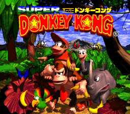 File:TitleScreenSuperDKSNES.png