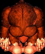 Donkey Kong - Back Art - Donkey Kong Country