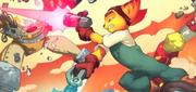 Blaster comic series