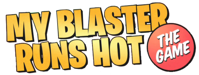 File:My blaster runs hot the game logo.png