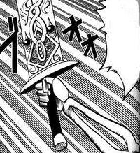 Mummy's Bone Knight Sword
