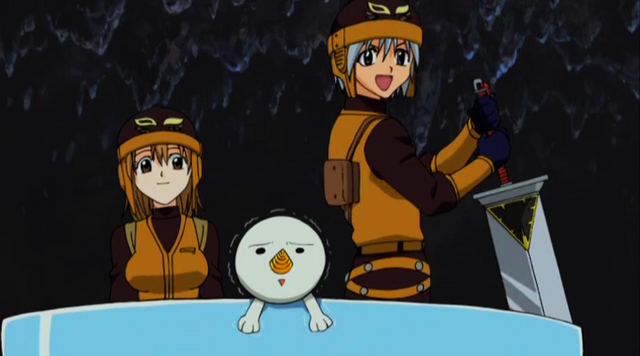 File:Haru, Elie, and plue escape with Giff.png