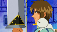 Shiba takes the Ten Commandments Sword