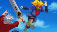 Let kicks Haru