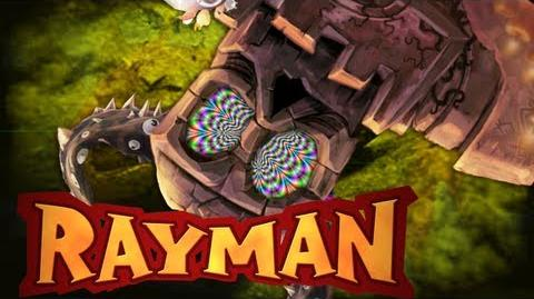 Rayman Origins O Poderoso Golem 7-0