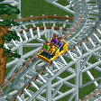 Side-Friction Roller Coaster RCT2 Icon