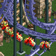 Inverted Shuttle Coaster RCT2 Icon