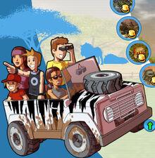 RCT3 Wild! campaing 02 - Ostrich Farm Plains