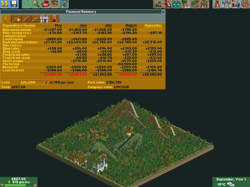 how to run roller coaster tycoon on windows 10
