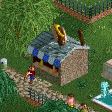 Hot Dog Stall RCT2 Icon