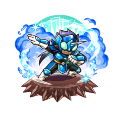 The Blue Paraberanger as a Karma Oni