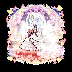 Kanami (Pure White Bride) as an Ice Blood True Vampire
