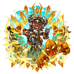 Asue as a Hell Demon King during the Hell Week Festival in the mobile game