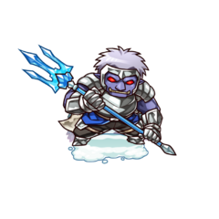 A Blue Hobgoblin Spear Elite