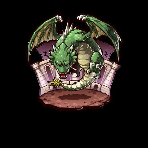 A Jadar Wyvern Leader in the mobile game