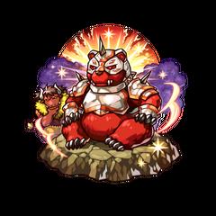 Kumakichi as a Steel-armored Great Bear