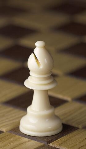 File:Chess piece - White bishop.jpg