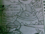 Eatle in my comic 2