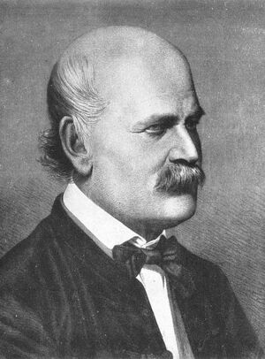 Ignaz Semmelweis 1860