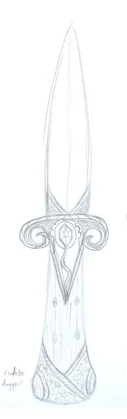 Rubite Dagger