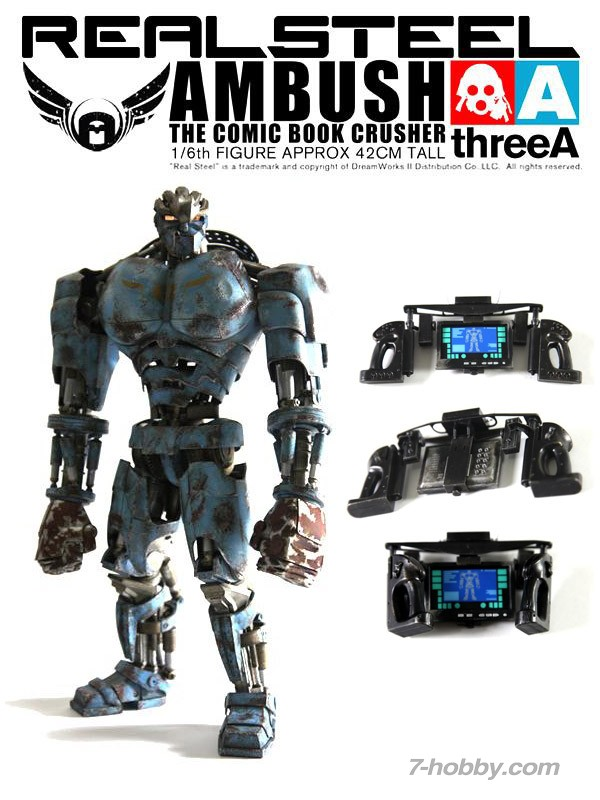 Threea 3a Real Steel Action Figures Real Steel Wiki