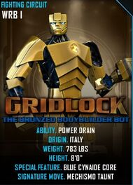 Gridlock card