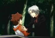 Tsuna & Adult Gokudera