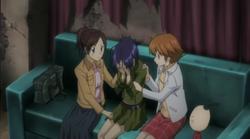 The Girls Comforting Chrome