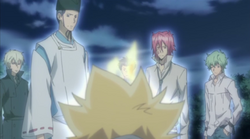 Giotto And His Guardians (minus Demon Spade)