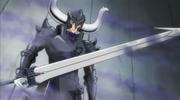 Genkishi Weilding the Illusion Sword