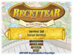 Title Screen (Survival Sub-Menu)