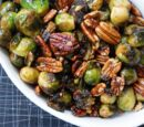 Brussels Sprouts in Pecan Sauce