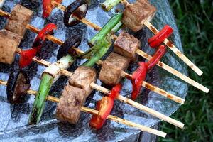 Tofu-kabobs