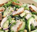 Caribbean Roast Chicken and Avocado Salad
