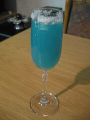 Cocktail blue magarita