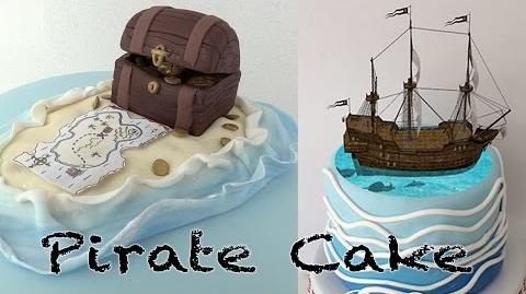 MAGIC PIRATE SHIP CAKE by Ann Reardon on How To Cook That channel