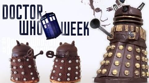 NEW Doctor Who Week Dalek Cake 50th Anniversary HOW TO COOK THAT YouTube BBC