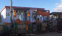 Swaziland Fruit stand