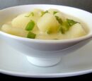 Green Onion and Potato Soup