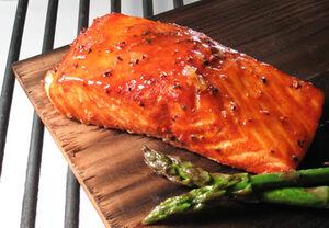 Maple-salmon
