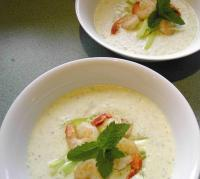 File:Chilled Cucumber & Yoghurt Soup with Prawns.jpg