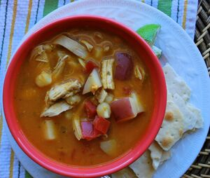 Chipotle Chicken Soup 3