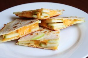 Apple-Cheddar-Quesadillas