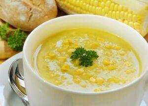 Special corn soup 21