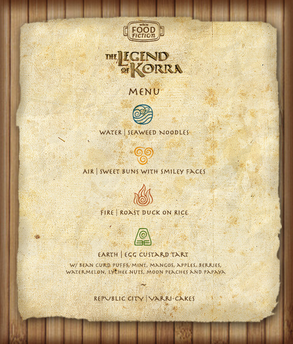 Ff legendofkorrafinale menu